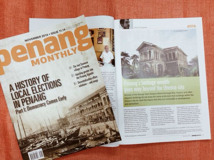 Penang Monthly - Two Cities